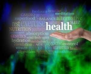 holistic health word cloud